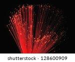 light  fiber  optics   Shutterstock . vector #128600909