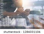 business intelligence  business ... | Shutterstock . vector #1286031106