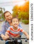 portrait of asian children... | Shutterstock . vector #1286031670