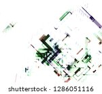 abstract vector background dot... | Shutterstock .eps vector #1286051116