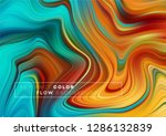 modern colorful flow poster.... | Shutterstock .eps vector #1286132839