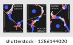 covers templates set with...   Shutterstock .eps vector #1286144020