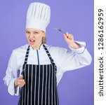 professional cook of culinary...   Shutterstock . vector #1286162959
