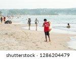 bali  indonesia   february 7 ...   Shutterstock . vector #1286204479