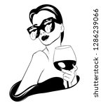 vector hand drawn realistic...   Shutterstock .eps vector #1286239066