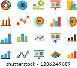 color flat icon set color...   Shutterstock .eps vector #1286249689