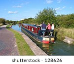 english canal scene | Shutterstock . vector #128626