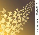 butterflies. flying butterflies....   Shutterstock .eps vector #1286267113