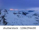 before sunrise in the fagaras... | Shutterstock . vector #1286296630
