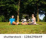 Young Couple On Picnic In The...