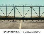 The Fence With Barbed Wire. The ...