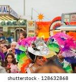 santa cruz  spain   feb 12 ... | Shutterstock . vector #128632868