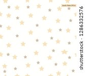 seamless pattern with stars... | Shutterstock .eps vector #1286332576