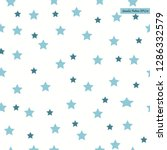 seamless pattern with stars... | Shutterstock .eps vector #1286332579