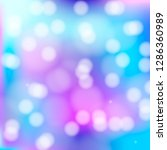 bokeh background with magic... | Shutterstock .eps vector #1286360989