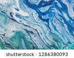 fluid art. abstract... | Shutterstock . vector #1286380093