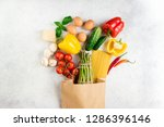 healthy food background.... | Shutterstock . vector #1286396146