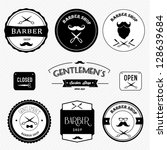 barber shop | Shutterstock .eps vector #128639684