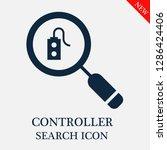 controller search icon....   Shutterstock .eps vector #1286424406