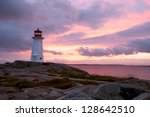 Peggys Point Lighthouse At...