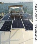 off grid solar salt life | Shutterstock . vector #1286425459