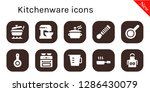 kitchenware icon set. 10... | Shutterstock .eps vector #1286430079