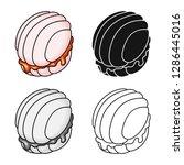 vector design of confectionery... | Shutterstock .eps vector #1286445016