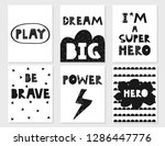 set of kids white and black... | Shutterstock .eps vector #1286447776