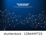 network connecting dot polygon... | Shutterstock .eps vector #1286449723