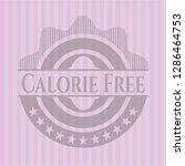 calorie free retro style pink... | Shutterstock .eps vector #1286464753