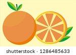 vector orange design   Shutterstock .eps vector #1286485633