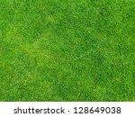green grass texture from golf...   Shutterstock . vector #128649038