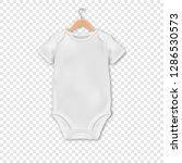 vector realistic white blank... | Shutterstock .eps vector #1286530573