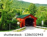A Covered Bridge In The...