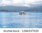dec 23 2018 tourists enjoy...   Shutterstock . vector #1286537020
