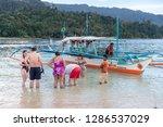 dec 23 2018 people on vacation...   Shutterstock . vector #1286537029