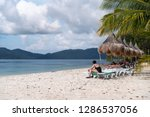 dec 23 2018 people on vacation...   Shutterstock . vector #1286537056