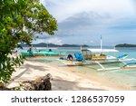 dec 23 2018 people on vacation...   Shutterstock . vector #1286537059