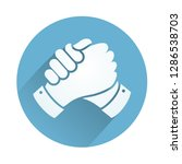 parthers blue icon | Shutterstock .eps vector #1286538703