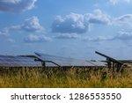 solar panel  alternative... | Shutterstock . vector #1286553550