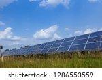 solar panel  alternative... | Shutterstock . vector #1286553559