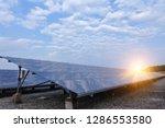 solar panel  alternative... | Shutterstock . vector #1286553580
