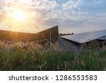 solar panel  alternative... | Shutterstock . vector #1286553583