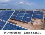 solar panel  alternative... | Shutterstock . vector #1286553610