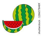 vector illustration logo for... | Shutterstock .eps vector #1286578489