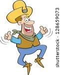 cartoon illustration of a... | Shutterstock .eps vector #128659073