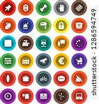 white solid icon set  soap... | Shutterstock .eps vector #1286594749
