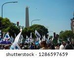 ciudad aut noma de buenos aires ... | Shutterstock . vector #1286597659