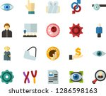 color flat icon set   holy... | Shutterstock .eps vector #1286598163