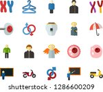 color flat icon set   holy... | Shutterstock .eps vector #1286600209